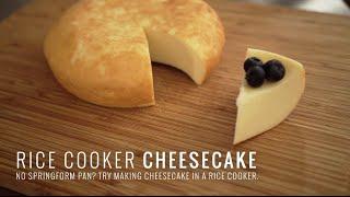 Rice Cooker Cheesecake