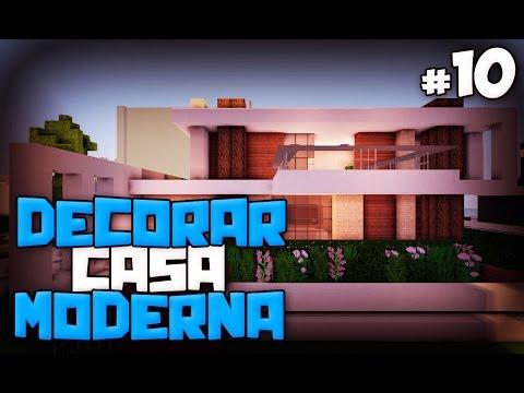 Video minecraft tutorial como hacer una casa moderna y for Casa moderna minecraft xbox 360