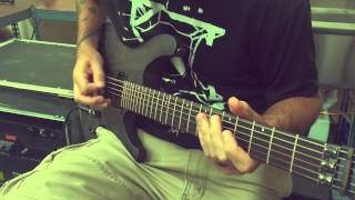 "Between The Buried And Me ""Famine Wolf"" guitar play-through with Paul Waggoner"