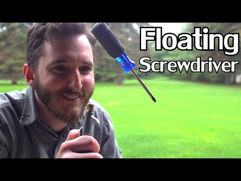 Levitate a Screwdriver with Compressed Air!