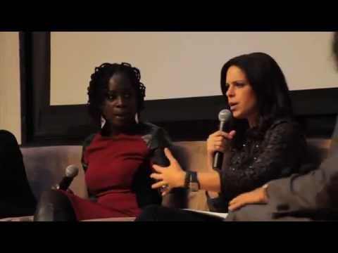 """Who is Black in America?"" panel discussion moderated by Soledad O"