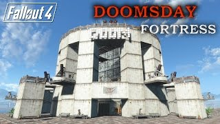 """Hey whats up guys, check out my latest settlement build, the doomsday fortress mega structure, crazy defense's, round structures, built with """"jug's"""" curve bu..."""