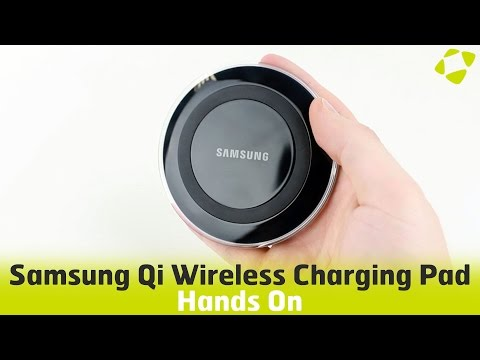 Samsung Galaxy S6 / S6 Edge Qi Wireless Charging Pad Hands On Review