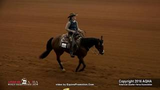 dunnit with diamonds ridden by kelsie kean 2016 aqha world show sr ranch riding shootout
