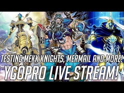 Yu-Gi-Oh! Live Stream! Invoked Mekk Knights, Mermail & More! (June 2019)