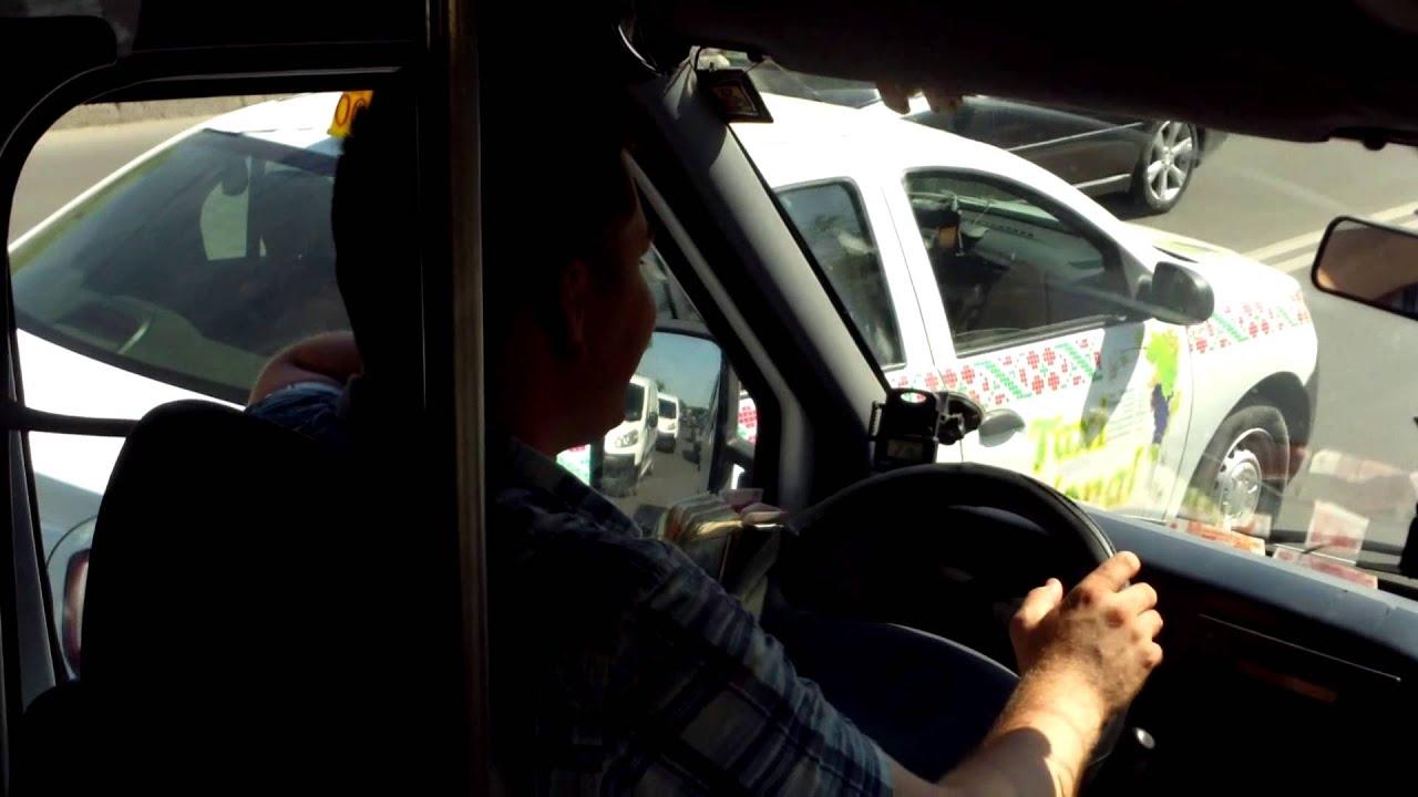 Șofer-telefonist, dar credincios, pe #ruta184