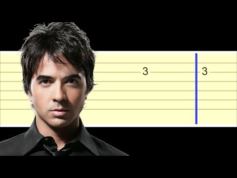 Luis Fonsi - Despacito (Easy Guitar Tabs Tutorial)