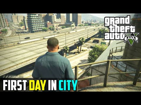NEW GANGSTER IS HERE   GTA V GAMEPLAY #1