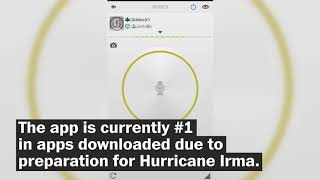 The app that saved Harvey victims is now #1 online thanks to Irma