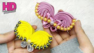 bros kupu kupu how to make satin ribbon flower Bagi Anda Yang Ingin...
