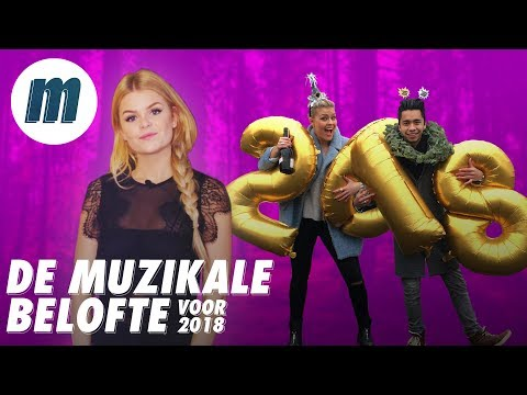 DAVINA MICHELLE GAAT HARD DOOR PINK | REPORT: JAAROVERZICHT 2017 [MUSIC]
