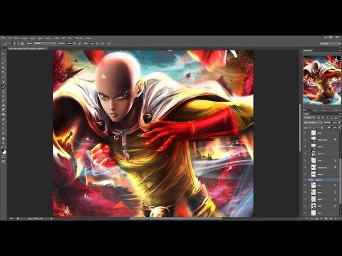 One Punch Man Speed Paint [Digital Art]