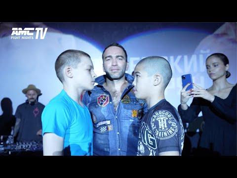 ДЕТИ НА ВЗВЕШИВАНИИ! Битва за КРАСНОЯРСК! Яркие моменты взвешивания турнира AMC FIGHT NIGHTS 102