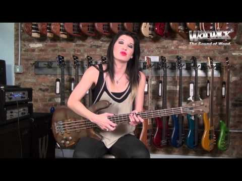 Warwick Endorser: Emma Anzai in the NY Custom Shop