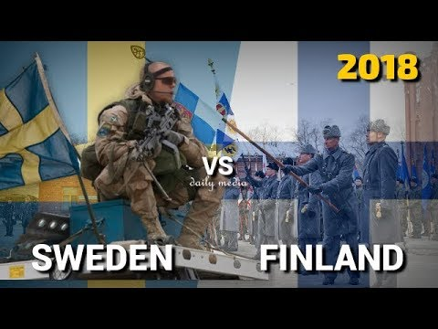 Sweden vs Finland - Military Power Comparison 2018