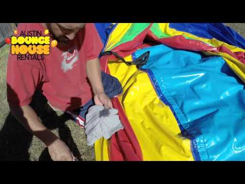 How to Remove Face Paint from a Bounce House | Remove Paint from Vinyl
