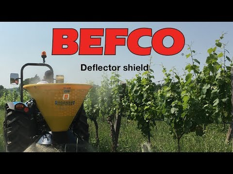 BEFCO Deflector shield Part# 0099638 - YouTube