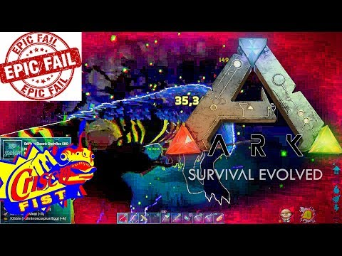 ARK: SURVIVAL EVOLVED: ALPHA TRIBE PUGADOS EP19 BIG FAIL TUESDAY