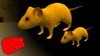 СИМУЛЯТОР Маленькой МЫШИ #4 мышонок стал взрослым видео для детей детский летсплей #ПУРУМЧАТА #КИД