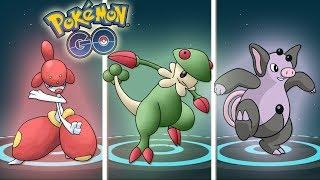 ¡MEJORES EVOLUCIONES 3 GENERACIÓN! MEDICHAM BRELOOM GRUMPIG - Pokémon GO [Keibron]