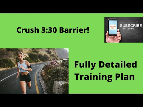 SUB 3:30 MARATHON How to Train for it (Fully Detailed Plan/Training Schedule)