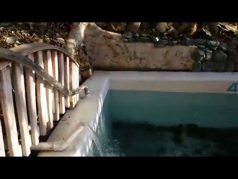 The hot-hot pool and the cold plunge