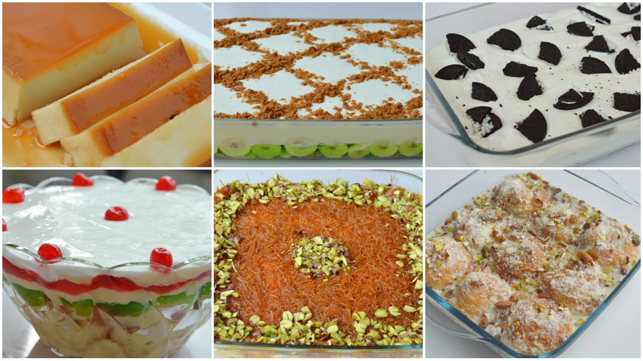 6 SPECIAL DESSERTS FOR EID 2020 by (YES I CAN COOK)