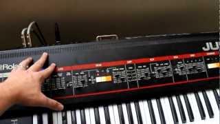 How to:  Controlling Roland Juno 60 Arpeggio Clock