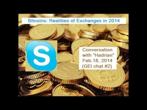 """""""The Reality of Exchanges"""" : GEI Bitcoins Chat#2"""