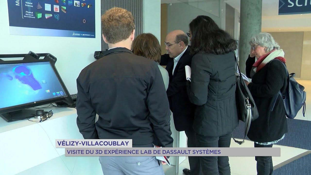 Yvelines | Vélizy-Villacoublay : Visite du 3D Experience Lab de Dassault Systemes