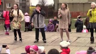 Поздравление с Масленицей горловчан и патриотическая песня