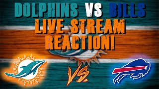 Miami Dolphins Vs Buffalo Bills Live Stream Reaction!!