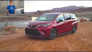 Is the 2021 Toyota Sienna the PERFECT minivan you have WAITED for?