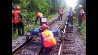 Ремонт железнодорожных путей | Repair of railway tracks(, 2015-10-03T12:25:03.000Z)