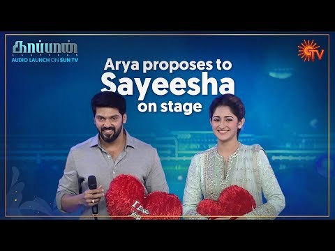 Arya and Sayeesha