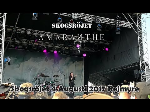 Amaranthe - Amaranthine, Call Out My Name & Encore, Skogsröjet 2017-08-04 Rejmyre Sweden