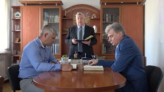 """Разбор Священного Писания 02 июня 2021 года. Церковь ЕХБ """"Преображение"""" г. Сарань."""