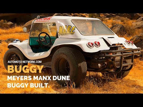 Meyers Manx Dune Buggy Built By Bruce Meyers Off A
