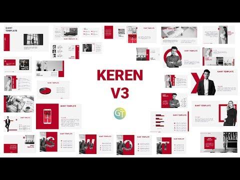 250 Free Template Powerpoint Keren Download Update 2019