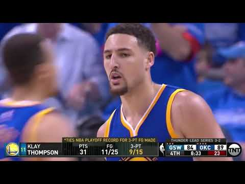 The Playoff Game Klay Thompson Changed NBA History Forever