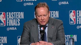 Mike Budenholzer Postgame Interview - Game 4 | Bucks vs Raptors | 2019 NBA Playoffs