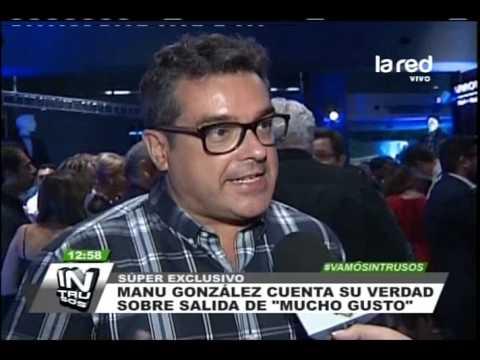 """Manu González rompe el silencio: Habla sobre su salida de """"Mucho Gusto"""""""