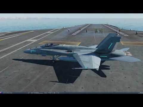 DCS | Supercarrier | F/A-18C Hornet | ICLS
