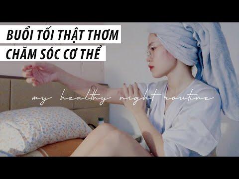 BUỔI TỐI THƯ GIÃN và CHĂM SÓC CƠ THỂ cùng Sun | My healthy night routine