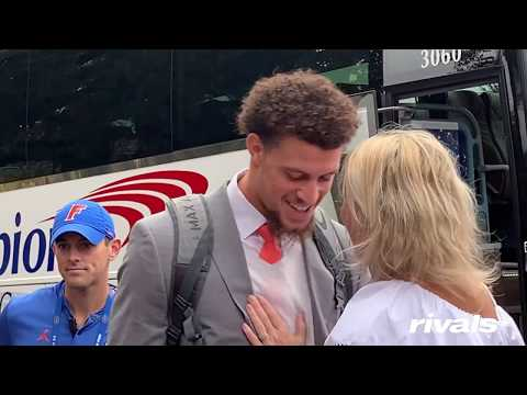 Uptown Angela - Florida Gators First Lady's Controversial Kisses