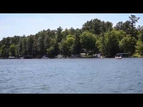 Pontoon Ride on Lake Minocqua 061320