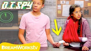 How to do a Secret Handoff (DIY Fake Arm) | D.I.SPY