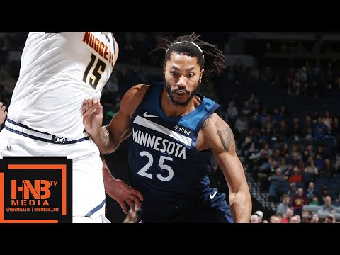 Minnesota Timberwolves vs Denver Nuggets Full Game Highlights | 11.21.2018, NBA Season