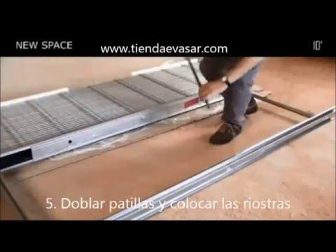 Montaje e instalaci n de casoneto para puerta corredera empotrada youtube - Puerta empotrada corredera ...