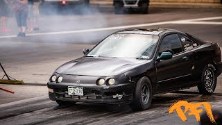Beater Integra qualify's #2 at PSCA
